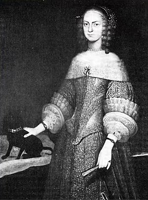 Als (island) - Duchess Auguste, first Duchess of Augustenborg (1633–1701).
