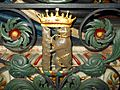 Dudley Knollys tomb bear Warwick St Marys.JPG