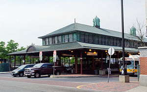 Dudley Square (MBTA station) - Dudley Square station in 2011