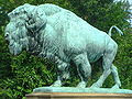 Dumbarton Bridge buffalo sculpture.jpg