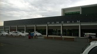 Dunedin Airport - Dunedin Airport terminal building in 2014
