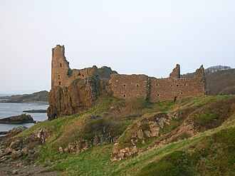 Dunure - Dunure Castle and headland