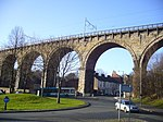 Railway Viaduct and Drinking Fountain attached