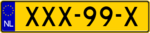 Dutch plate yellow NL code 11.png