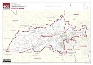 Electoral district of Ipswich West State electoral district of Queensland, Australia