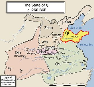 Qi (state) - Qi in 260 BC