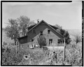EXTERIOR, WEST VIEW - McGuirk-Nordstrom House, Battlement Mesa, Garfield County, CO HABS COLO,23-BATME,2-2.tif