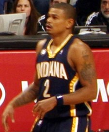 Earl Watson Bulls vs Pacers December 2009.jpg