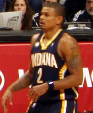Earl Watson - Watson with the Pacers in December 2009