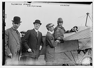 Earle Ovington - Edward M. Morgan, Frank Harris Hitchcock, and Earle Lewis Ovington and the Blériot XI
