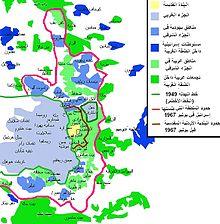 تاريخ فلسطين _مناطق القدس