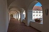 Eberndorf Stiftsgebäude N-Trakt 1. Stock Arkadengang 28082018 4335.jpg