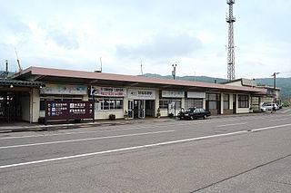 Myōkō-Kōgen Station Railway station in Myōkō, Niigata Prefecture, Japan