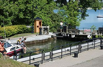 Chambly, Quebec - Chambly Canal lock