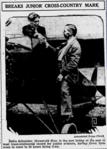 Eddie August Schneider in The Evening Independent of St. Petersburg, Florida on August 19, 1930.png