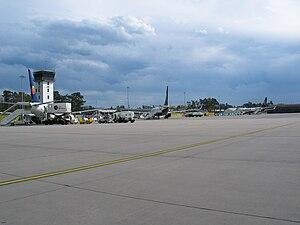 Karlsruhe/Baden-Baden Airport - Apron overview