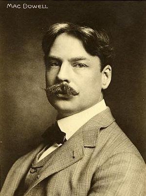 McDowell, Edward Alexander (1861-1908)