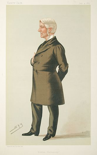 Edward Gibson, 1st Baron Ashbourne - Lord Ashbourne by Leslie Ward, 1885.