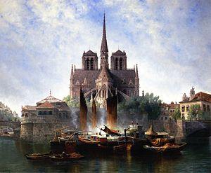 Edwin Deakin - Image: Edwin Deakin xx Notre Dame Paris xx Private Collection