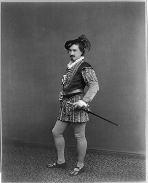 Iago - Edwin Booth as Iago, c. 1870