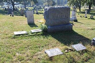 Edwin Willits - Willits grave