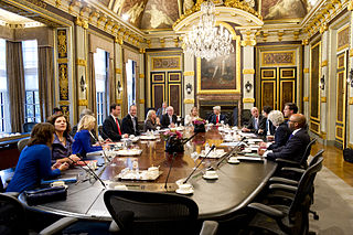 Council of Ministers (Netherlands) executive council of Dutch government, formed by all the ministers