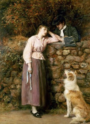 The Heart of Midlothian - Effie Deans by John Everett Millais