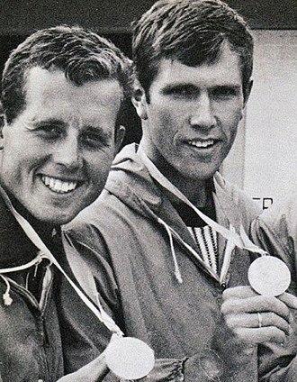 Egil Søby - Søby (left) in 1968