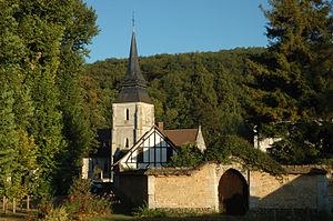 Amfreville-sur-Iton - Image: Eglise à Amfreville sur Iton 01