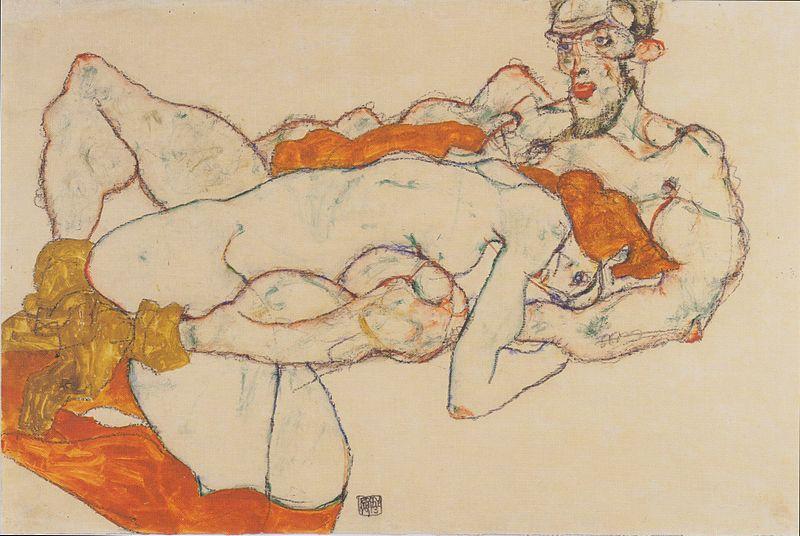 File:Egon Schiele - Liebespaar - 1913.jpeg