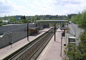 Gardermoen Line - Eidsvoll Verk Station