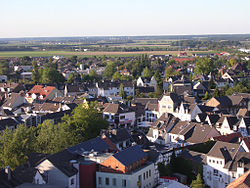 Aerial view of Rheinbach