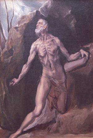 El Greco's (Domenikos Theotokopoulos) painting...