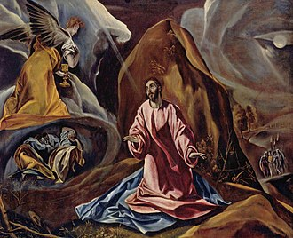 Agony in the Garden - Agony in the Garden by El Greco