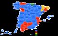 Elecciones generales españolas de 1977 - distribución del voto.png