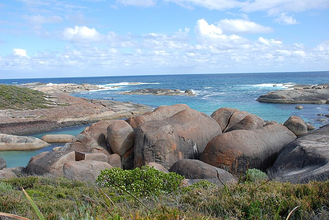 English: Elephant Rocks in William Bay Nationa...
