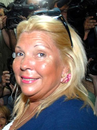 2007 Argentine general election - Image: Elisa Carrió