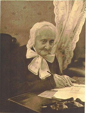Elise Averdieck - Elise Averdieck in 1905; photo by Rudolf Dührkoop