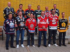 2010–11 Elitserien season - Head coaches of all Elitserien teams, September 2010.