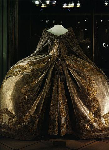 Коронационное платье Елизаветы Петровны