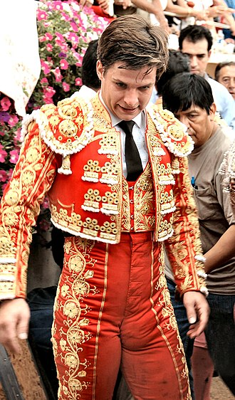 Bullfighter - El Juli, one of the most renowned bullfighters in the world