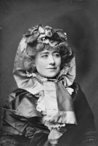Edward Gordon Craig - Craig's mother, Ellen Terry, ca. 1880