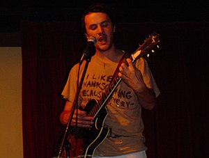 Mount Eerie - Elverum at UCLA in May 2004 (shortly after switching from The Microphones to Mount Eerie).