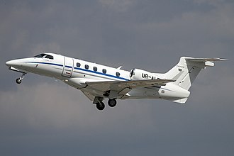 Embraer Phenom 300 - Phenom 300 with gear retracting