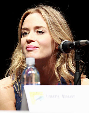 Emily Blunt - Blunt at the San Diego Comic-Con in 2013