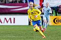 Emma Lundh during France - Sweden.jpg