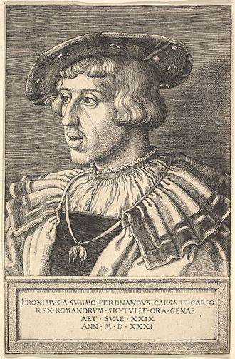 Ferdinand I, Holy Roman Emperor - Ferdinand in 1531, the year of his election as King of the Romans