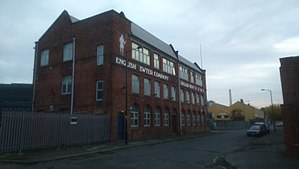 Listed buildings in Sheffield S4 - Image: English Pewter Company