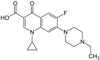Enrofloxacin chemical compound