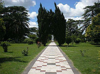 Serodino - Image: Entrada diagonal plaza